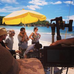 Directing in the sun